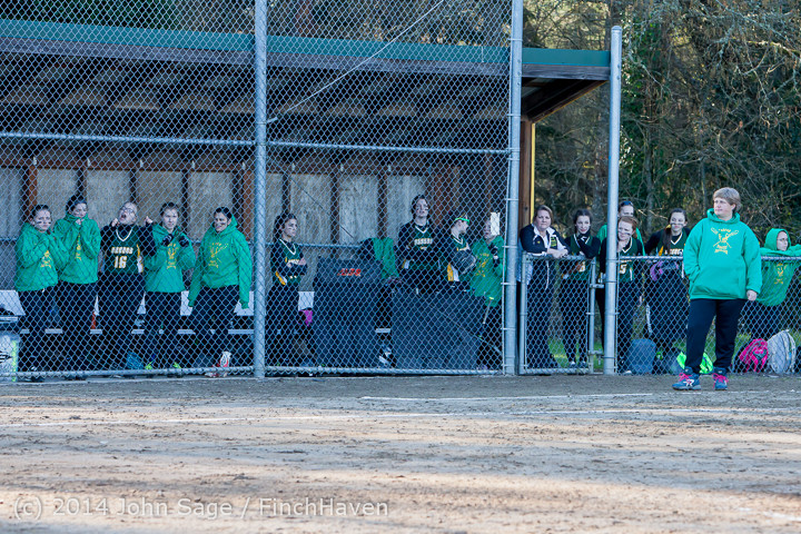 5678 Softball v Eatonville 032114