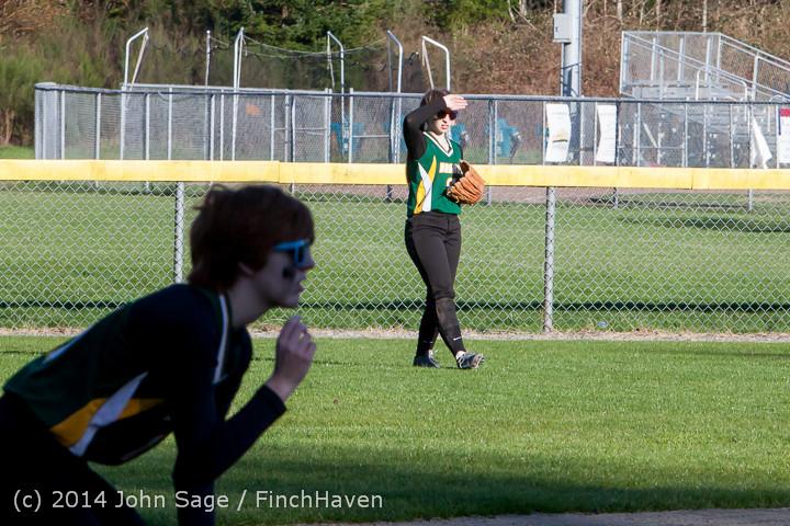 5717 Softball v Eatonville 032114