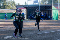 5740 Softball v Eatonville 032114