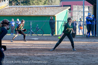 5811 Softball v Eatonville 032114