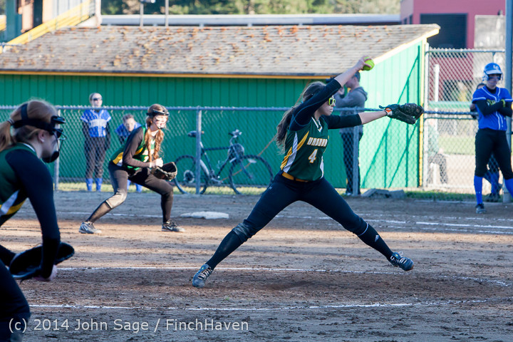 5817 Softball v Eatonville 032114