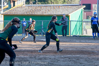 5821 Softball v Eatonville 032114