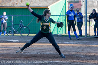 5829 Softball v Eatonville 032114