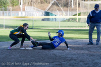 5837 Softball v Eatonville 032114