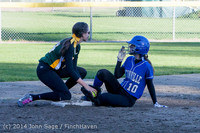 5844 Softball v Eatonville 032114