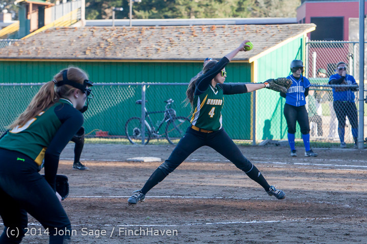 5857 Softball v Eatonville 032114