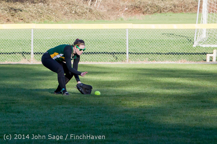 5865 Softball v Eatonville 032114
