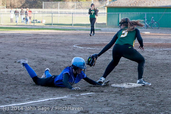 5881 Softball v Eatonville 032114