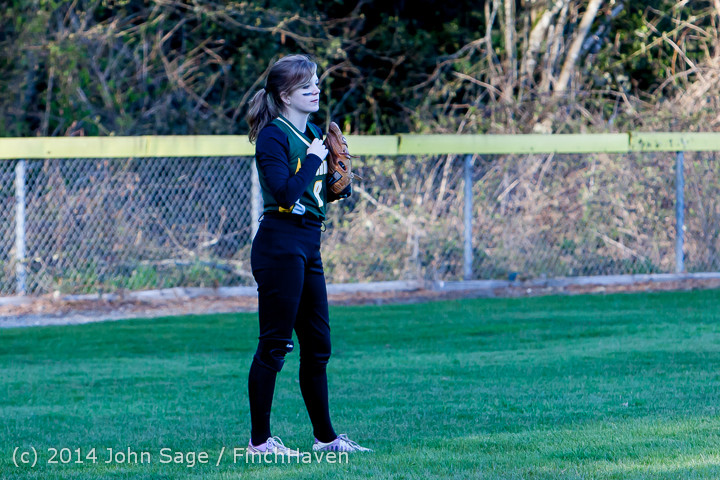 5890 Softball v Eatonville 032114