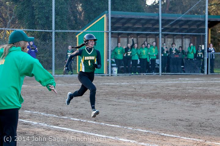 5906 Softball v Eatonville 032114