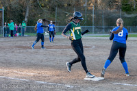 5909 Softball v Eatonville 032114