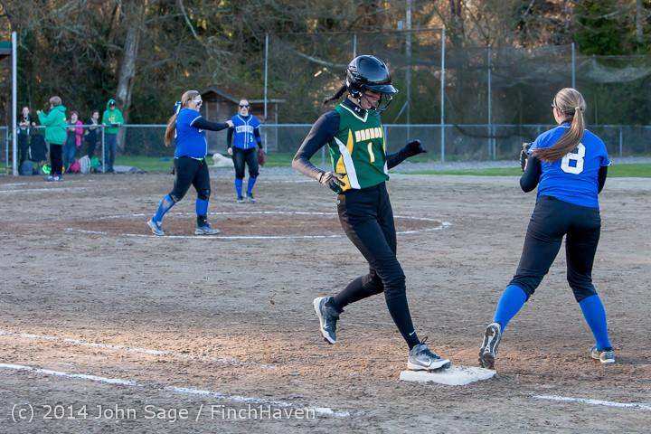 5909 Softball v Eatonville 032114