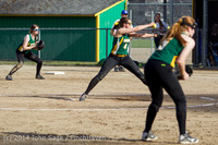 1238 Softball v University-Prep 042914