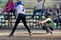 1258 Softball v University-Prep 042914