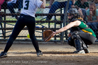 1264 Softball v University-Prep 042914