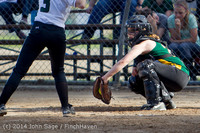 1265 Softball v University-Prep 042914