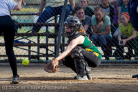 1278 Softball v University-Prep 042914