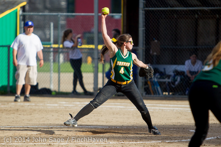 1292 Softball v University-Prep 042914