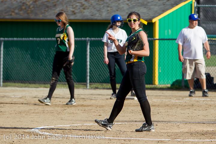 1299 Softball v University-Prep 042914