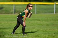 1311 Softball v University-Prep 042914