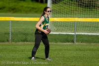 1327 Softball v University-Prep 042914