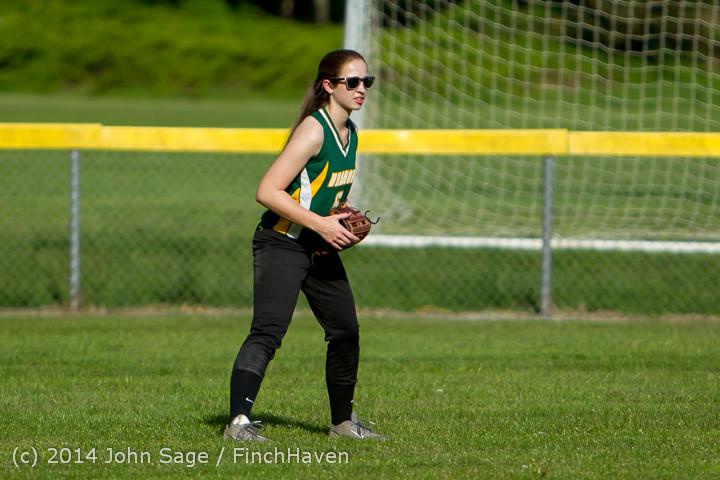 1327 Softball v University-Prep 042914