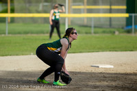 1331 Softball v University-Prep 042914