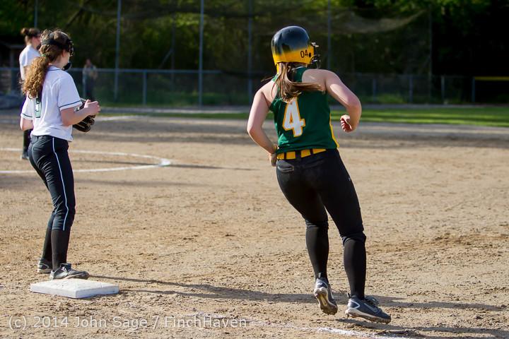 1423 Softball v University-Prep 042914