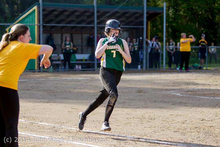 1453 Softball v University-Prep 042914