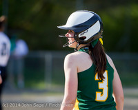 1538 Softball v University-Prep 042914
