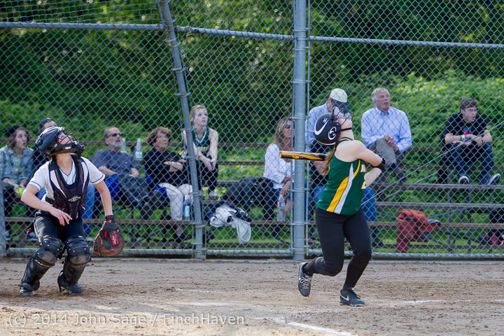 1563 Softball v University-Prep 042914