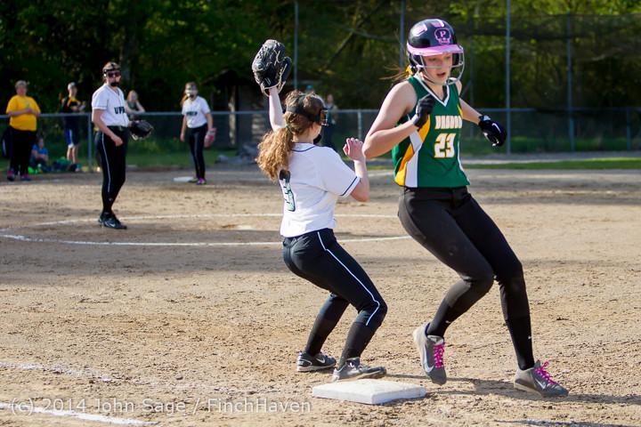 1588 Softball v University-Prep 042914