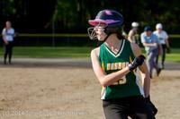1597 Softball v University-Prep 042914