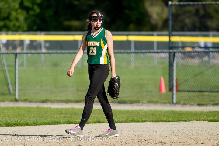 1617 Softball v University-Prep 042914