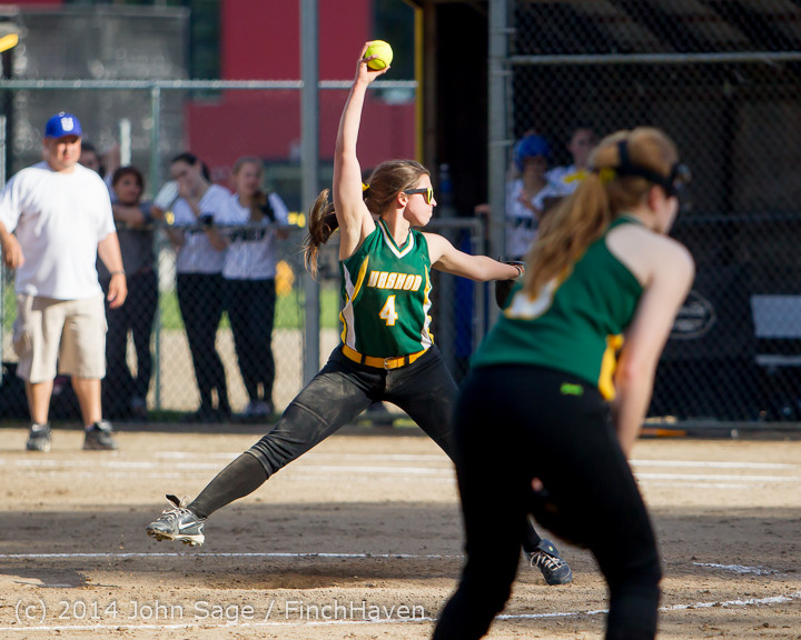 1624 Softball v University-Prep 042914