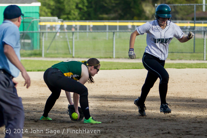 1640 Softball v University-Prep 042914