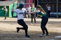 1646 Softball v University-Prep 042914