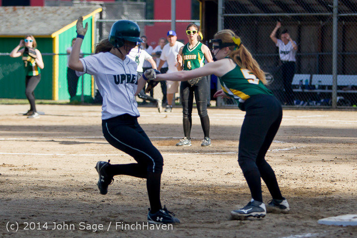 1646 Softball v University-Prep 042914