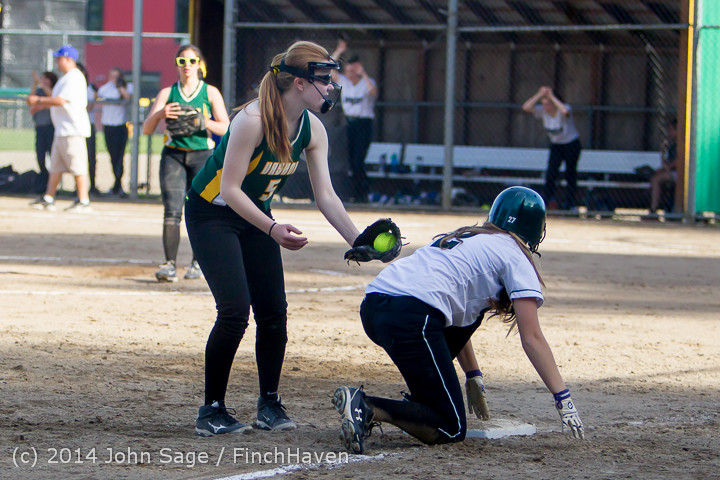 1657 Softball v University-Prep 042914