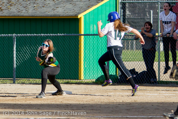 1669 Softball v University-Prep 042914
