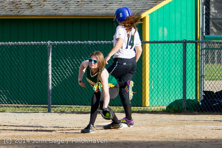 1671 Softball v University-Prep 042914