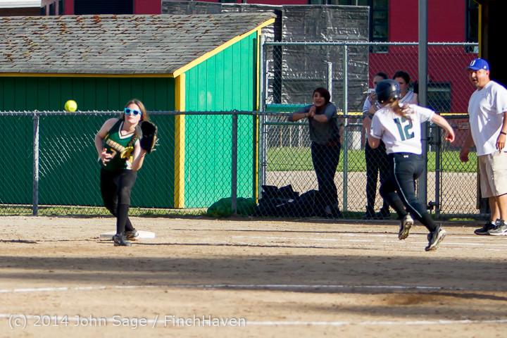 1693 Softball v University-Prep 042914