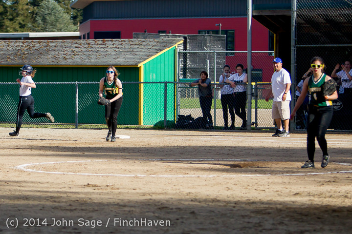 1704 Softball v University-Prep 042914