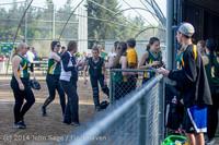 1738 Softball v University-Prep 042914