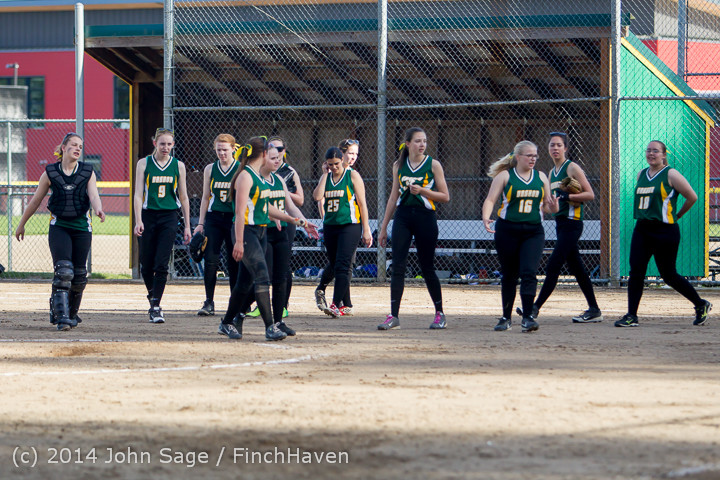 1764 Softball v University-Prep 042914