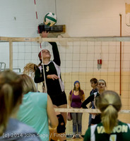 18016 Varsity Volleyball v Eastside-Prep 091014