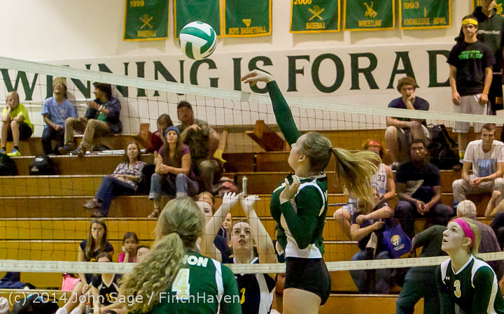 18459 Varsity Volleyball v Eastside-Prep 091014
