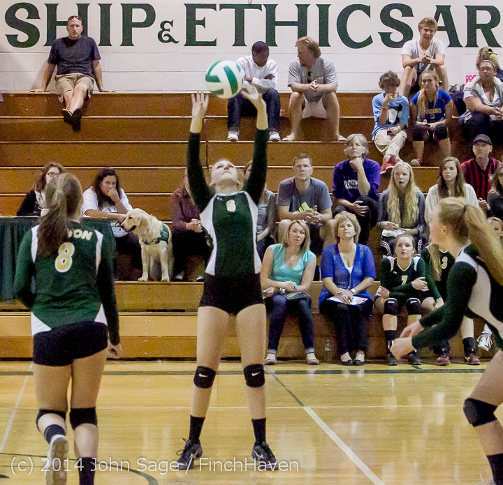 19940 Varsity Volleyball v Eastside-Prep 091014