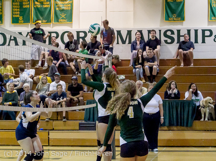 19994 Varsity Volleyball v Eastside-Prep 091014