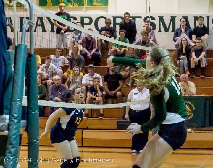 20074 Varsity Volleyball v Eastside-Prep 091014